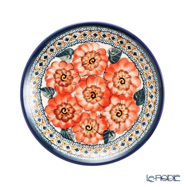 ポーリッシュポタリー(ポーランド陶器) ボレスワヴィエツ プレート 19.5cm 814/ART-124 アートコレクション