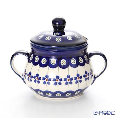 ポーリッシュポタリー(ポーランド陶器) ボレスワヴィエツシュガーボウル 250ml/9.8cm 1354/166A