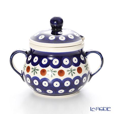 ポーリッシュポタリー(ポーランド陶器) ボレスワヴィエツシュガーボウル 250ml/9.8cm 1354/41