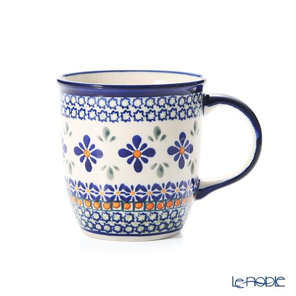 ポーリッシュポタリー(ポーランド陶器) ボレスワヴィエツ マグカップ 350ml/9.7cm 1105/DU-60