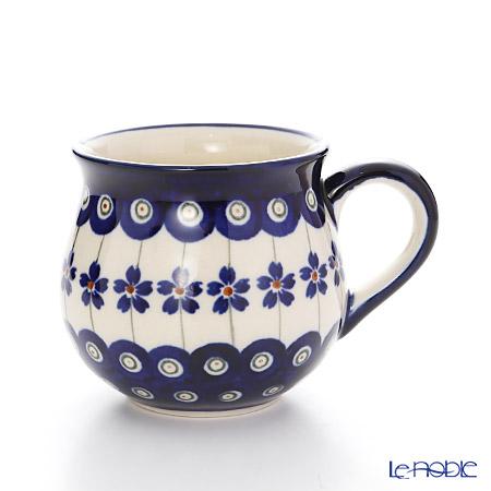 ポーリッシュポタリー(ポーランド陶器) ボレスワヴィエツ マグ 220ml/8cm 1452/166A