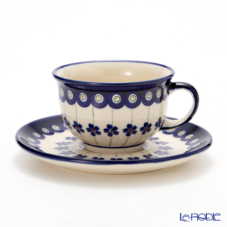 ポーリッシュポタリー(ポーランド陶器) ボレスワヴィエツ ティーカップ&ソーサー 220ml 775/836/166A