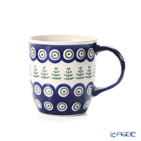 ポーリッシュポタリー(ポーランド陶器) ボレスワヴィエツ マグカップ 350ml/9.7cm 1105/D-312