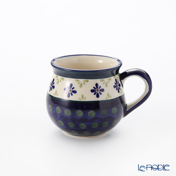 ポーリッシュポタリー(ポーランド陶器) ボレスワヴィエツ マグ 220ml/8cm 1452/297A