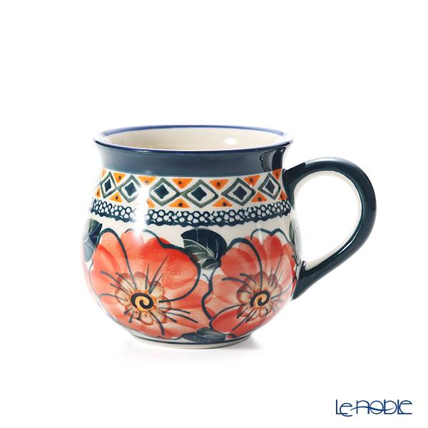 ポーリッシュポタリー(ポーランド陶器) ボレスワヴィエツ マグカップ 220ml/8cm 1452/ART-124 アートコレクション