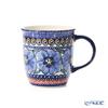 ポーリッシュポタリー(ポーランド陶器) ボレスワヴィエツマグカップ 350ml/9.7cm 1105/ART-148 アートコレクション