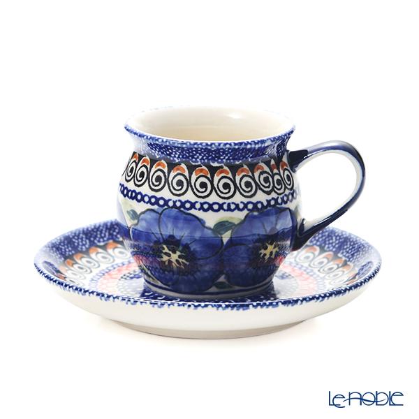 ポーリッシュポタリー(ポーランド陶器) ボレスワヴィエツ コーヒーカップ&ソーサー 160ml/14.2cm 913/710/ART-148 アートコレクション