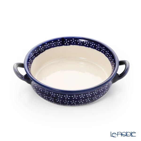 ポーリッシュポタリー(ポーランド陶器) ボレスワヴィエツ グラタン皿 18.8cm/H4.6cm 1454/226A