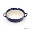 ポーリッシュポタリー(ポーランド陶器) ボレスワヴィエツグラタン皿 18.8cm/H4.6cm 1454/226A