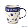 Polish Pottery Boleslawiec '1105/925A' XMAS/Christmas Snowflake Mug 350ml