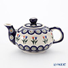 Polish Pottery Boleslawiec Tea Pot 420ml 864/809