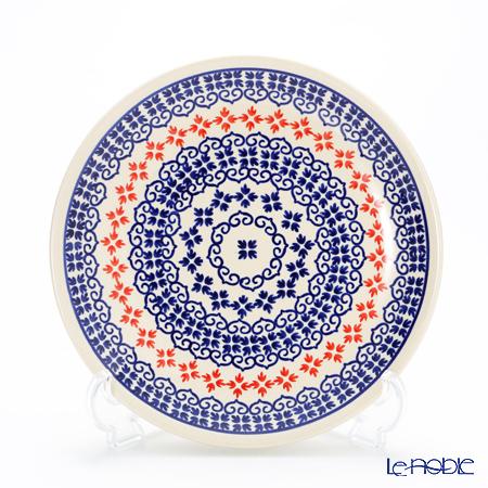 ポーリッシュポタリー(ポーランド陶器) ボレスワヴィエツ プレート 19.5cm 814/1046