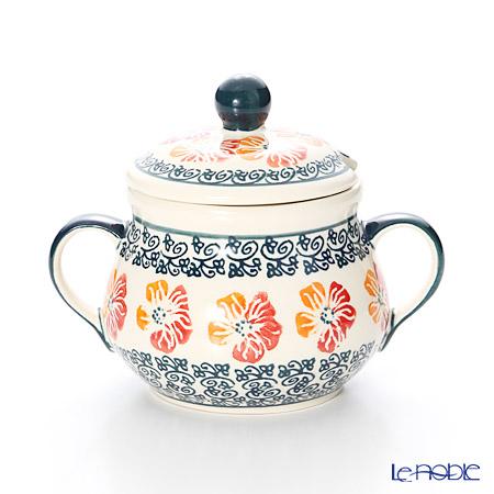 ポーリッシュポタリー(ポーランド陶器) ボレスワヴィエツ シュガーボウル 250ml/9.8cm 1354/955