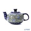 Polish Pottery Boleslawiec '864/A-1073A' Tea Pot 420ml