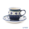 Paulish Pottery Boleswawiec Coffee Cup & Saucer 160ml/14.2cm 913/710/A-297A