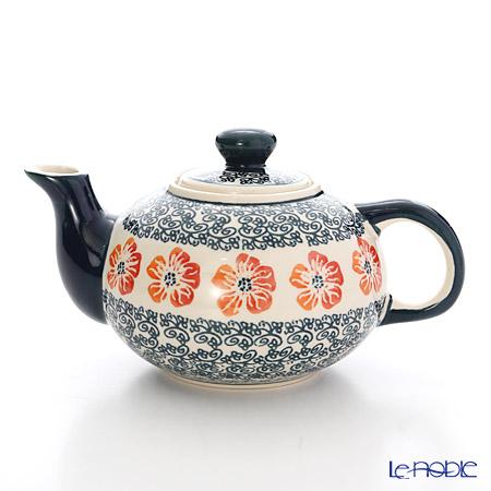 ポーリッシュポタリー(ポーランド陶器) ボレスワヴィエツ ティーポット 420ml 864/955