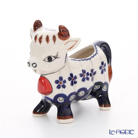 ポーリッシュポタリー(ポーランド陶器) ボレスワヴィエツクリーマー(ウシ) 75ml 1885/166A