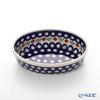 Polish Pottery Boleslawiec Oval Dish 16x10.5cm 1894A/41