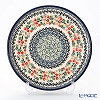 Polish Pottery Boleslawiec 'DU158-GU524' Plate 24.5cm