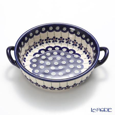 ポーリッシュポタリー(ポーランド陶器) ボレスワヴィエツ グラタン皿 1454A/166A(内模様)