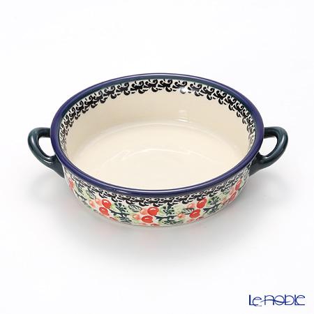 ポーリッシュポタリー(ポーランド陶器) ボレスワヴィエツグラタン皿 1454/DU158