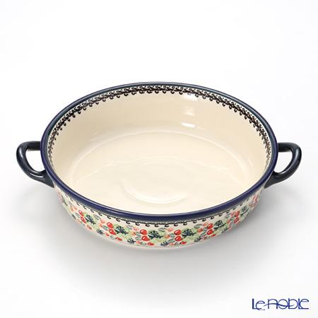 ポーリッシュポタリー(ポーランド陶器) ボレスワヴィエツ グラタン皿 1455/DU158