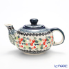 Polish Pottery Boleslawiec 'DU158-GU864' Tea Pot 420ml