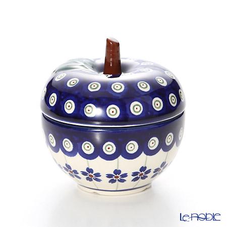 ポーリッシュポタリー(ポーランド陶器) ボレスワヴィエツキャニスター(リンゴ) 9.2cm/100ml 1899/166A