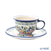 Polish Pottery Boleslawiec '775/836/DU-182' Tea Cup & Saucer 220ml