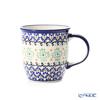 ポーリッシュポタリー(ポーランド陶器) ボレスワヴィエツマグカップ 350ml/9.7cm 1105/A-1155A