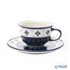 Polish Pottery Boleslawiec '775/836/A-297A' Tea Cup & Saucer 220ml