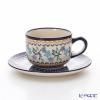 ポーリッシュポタリー(ポーランド陶器) ボレスワヴィエツティーカップ&ソーサー 210ml/16cm 886/883/1154A