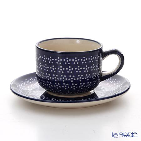 ポーリッシュポタリー(ポーランド陶器) ボレスワヴィエツ ティーカップ&ソーサー 210ml/16cm 886/883/226A