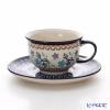 Polish Pottery Boleslawiec Tea Cup & Saucer 220ml/ 775/836/1154A