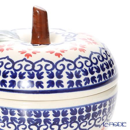 Polish Pottery Boleslawiec '1046-GU1899' Canister (Apple) 100ml