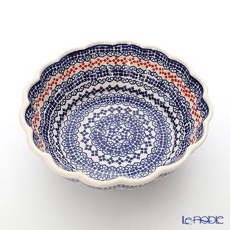 ポーリッシュポタリー(ポーランド陶器) ボレスワヴィエツボウル 1.5L/24.3cm 1279A/1046