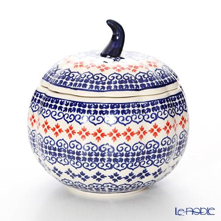 ポーリッシュポタリー(ポーランド陶器) ボレスワヴィエツスープボウル(リンゴ) 14.8cm 1777/1046