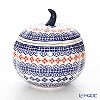 Polish pottery (pottery Poland) boleswavietz Superbowl (Apple) 14.8 cm 1777 / 1046