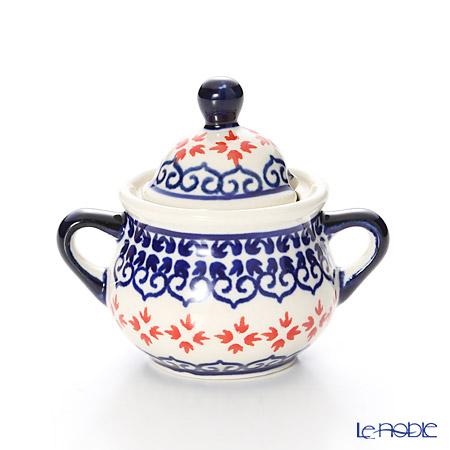 Polish Pottery Boleslawiec '1046-GU1115' Sugar Bowl 50ml