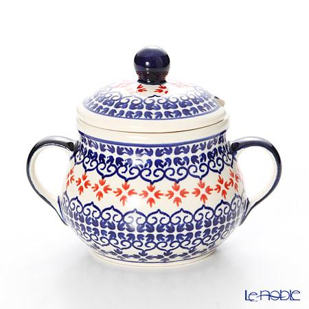 ポーリッシュポタリー(ポーランド陶器) ボレスワヴィエツ シュガーボウル 250ml/9.8cm 1354/1046