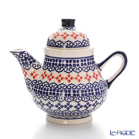 ポーリッシュポタリー(ポーランド陶器) ボレスワヴィエツ コーヒーポット 250ml/14cm 163/1046