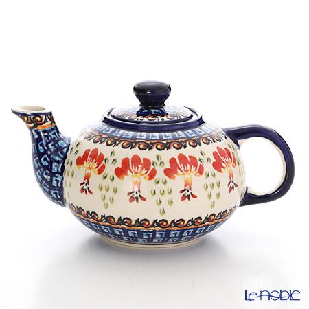 ポーリッシュポタリー(ポーランド陶器) ボレスワヴィエツ ティーポット 420ml 864/DU184
