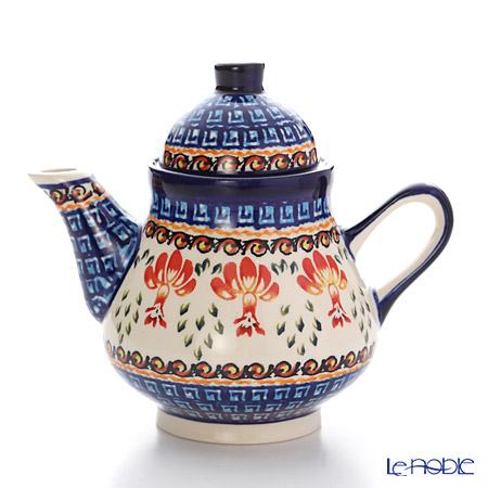 ポーリッシュポタリー(ポーランド陶器) ボレスワヴィエツコーヒーポット 250ml/14cm 163/1046