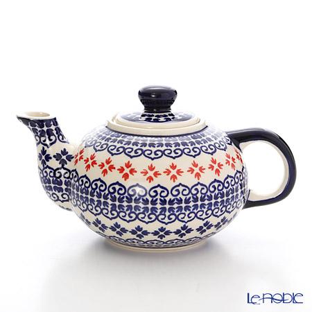 ポーリッシュポタリー(ポーランド陶器) ボレスワヴィエツ ティーポット 420ml 864/1046