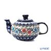 Polish Pottery Boleslawiec '864/A-1145A' Tea Pot 420ml