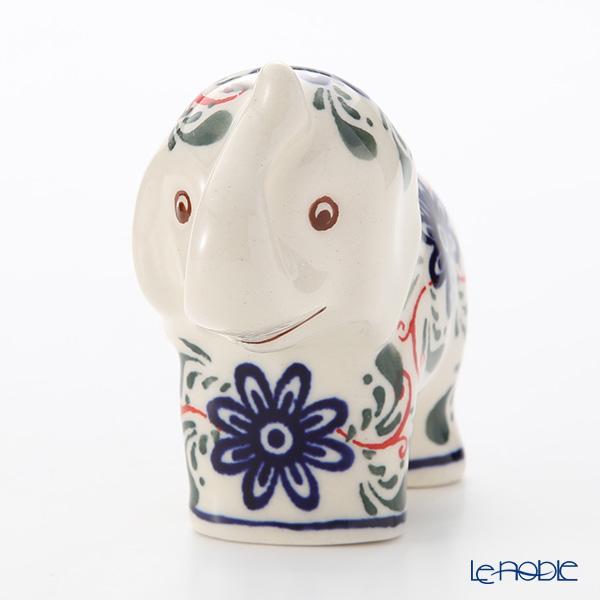 Polish Pottery Boleslawiec '1197A-GU1874' Animal Figurine (Elephant) H8cm