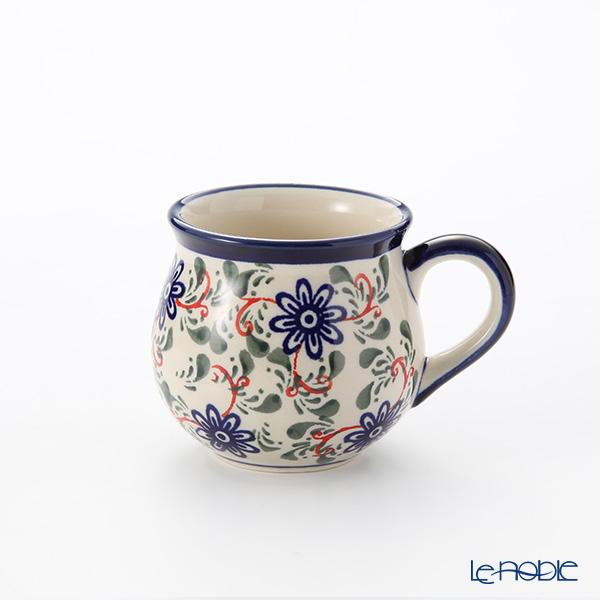 ポーリッシュポタリー(ポーランド陶器) ボレスワヴィエツ マグ 220ml/8cm 1452/1197A