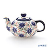 Polish Pottery Boleslawiec Tea Pot 420ml 864/1197