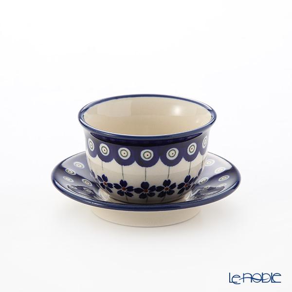 ポーリッシュポタリー(ポーランド陶器) ボレスワヴィエツ ジャパニーズティーカップ&ソーサー 110ml 716/2014/226A