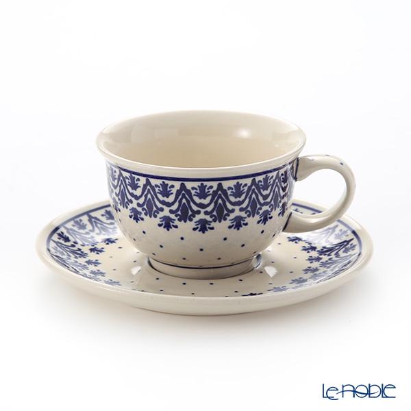 ポーリッシュポタリー(ポーランド陶器) ボレスワヴィエツ ティーカップ&ソーサー 220ml/16cm 775/836/1169